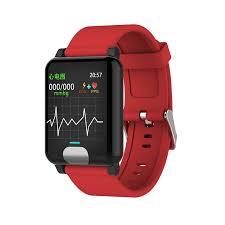 E04 Waterproof <b>Smart</b> Watches ECG <b>PPG</b> Blood Pressure ...