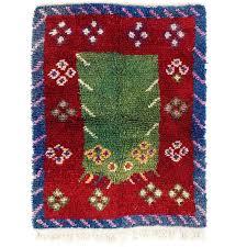 striking work of woven folk art tulu rug