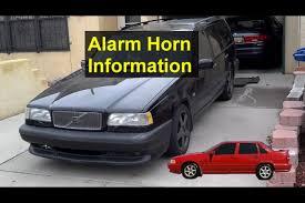 alarm horn for the p80 volvo cars, 850, s70, v70, v70 xc, etc fuse box volvo 850 alarm horn for the p80 volvo cars, 850, s70, v70, v70 xc, etc votd