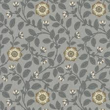 Little Greene Behang London Wallpapers Iv Richmond Green Platinum C