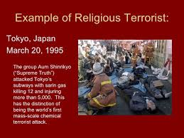 religious extremism 4 example of religious