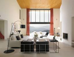 Orange Accessories Living Room Living Room Living Room Decorating Ideas With Black Varnished