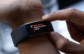 Microsoft Fitness Tracker Microsoft Band 2 Review Still Flawed But A Step In The