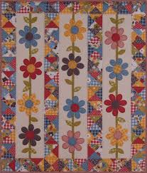 Best 25+ Flower quilts ideas on Pinterest | Quilt patterns, Baby ... & Q quilt 2 QM Staff Inventory: I Love Happy! Would do this with pretty  floral fabric for a much quicker quilt. Adamdwight.com