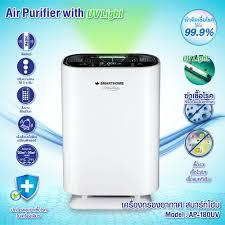 เครื่องฟอกอากาศ Smart Home รุ่น AP-180 UV (รับประกันนาน 3 ปี)