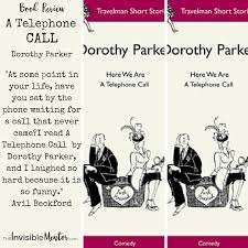 A Telephone Call By Dorothy Parker Book Review