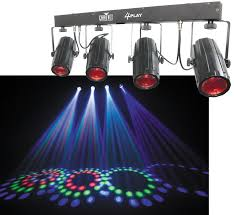 chauvet dj 2 4play led color bar light 2 dmx cables lighting truss system