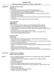 Elementary Education Resume Examples Impressive Resume Resume Examples For New Teachers Teacher Example Elementary