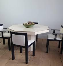 Italian Dining Tables Octagonal Travertine Italian Dining Table Travertine Dining