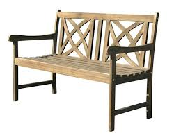 wooden outdoor chairs wood garden bench bunnings