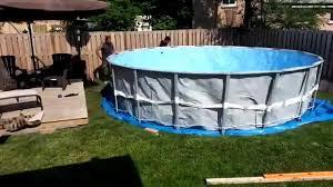 intex above ground swimming pool. Intex Above Ground Swimming Pool