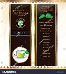Free Coffee Menu Template Free Guide Tea Bar Menu Template Stock ...