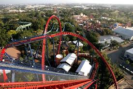 the view from busch gardens sheikra at the top of the track photo by ken helle times files 2005