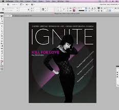 Indesign Tutorial How To Design A Magazine Cover With Pantone