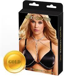 <b>Украшение для груди Ann</b> Devine Sexy, золотой — купить в ...