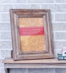 brown wood 10 x 1 x 12 inch premium photo frame by casa decor