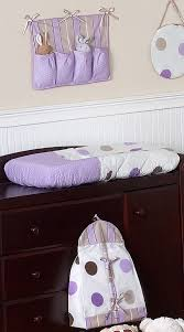 purple and brown modern polka dot baby bedding 11pc crib set only 75 99