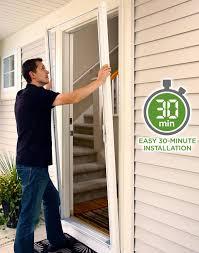 retractable screen doors installation home decorating interior