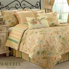 Cape Coral Floral Quilt Set by Waverly & Cape Coral Quilt Set Peach Adamdwight.com