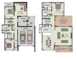 duplex small house design floor plans