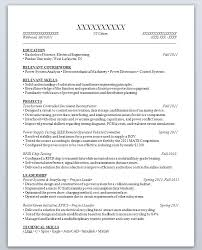 Resume Sample For Students With No Experience Resume Examples For ...