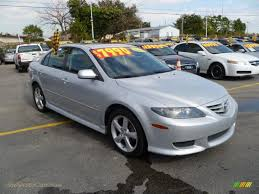 mazda 6 2004 hatchback. 2004 mazda6 s hatchback glacier silver metallic black photo 1 mazda 6