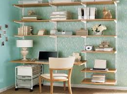 wall shelving units for office