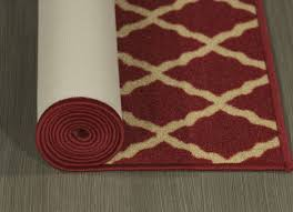 large size of rght rug runners with non skid backing ottomanson ottohome collection contemporary morrocon trellis