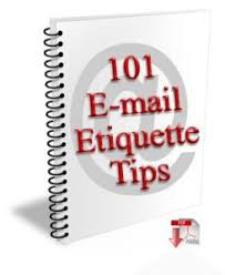 101 E Mail Etiquette Tips Net M Nners