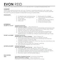 Aircraft Mechanic Sample Resume Auto Mechanic Resume Sample Auto ...