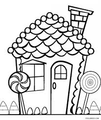 Small Picture Coloring Pages Christmas Wreath With Gingerbread House Coloring