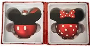 Amazonde Hallmark Minnie Und Mickey Mouse Glas