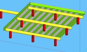 deck plans diyroom freestanding architecture 77397