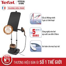 Bàn ủi hơi nước Tefal Smart Protect FV4980E0 2600W (Trắng phối xanh)
