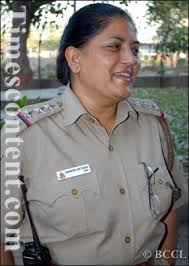 Surinder Jeet Kaur the only woman officer among 155 SHO's in Delhi.The 47- - Surinder-Jeet-Kaur