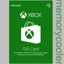 Microsoft Giftcard Details About Gbp 5 Xbox Gift Card Microsoft 5 Pound Xbox Live Code Xbox 360 One Uk