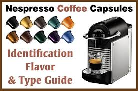 Nespresso Coffee Capsules Identification Flavor Color
