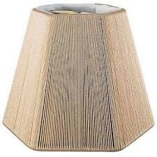 hexagon silk string chandelier lampshade with hand sewn soft lining