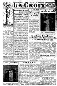 Le 26 Juin 1945 Les Nations Unies Voient Le Jour