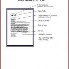 Format Of Business Letter Pdf Best Business Letter Writing Samples