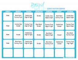 brazil lift clic schedule