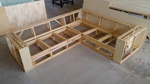making wooden frame for corner sofa