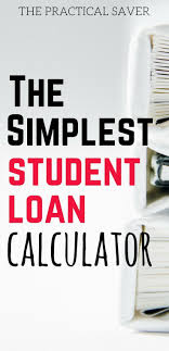 Student Loan Early Repayment Calculator Student Loan Prepayment Calculator Pinterest Student Loan