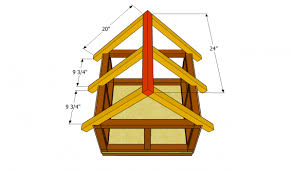 outdoor cat house plans. Installing The Rafters Outdoor Cat House Plans L