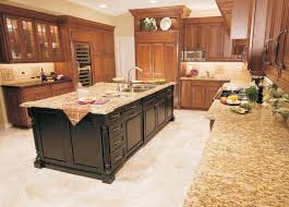 Island In Kitchen Granite Countertops Island