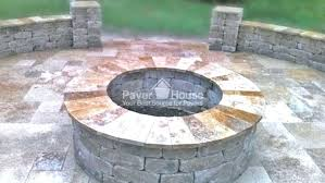 brick fire pits fire pit brick backyard patio remodel by house round brick fire pit design