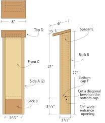 bat house plans pdf beautiful bat house plans build diy free florida ohio dnr pdfncredible 29