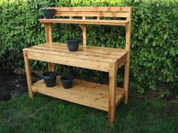 diy garden potting work bench ideas uploaded go nicola