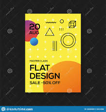 education poster templates flat design poster templates stock vector illustration of frame