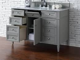 rustic gray bathroom vanities. Cool Contemporary 48 Inch Single Bathroom Vanity Gray Finish No Top At With Rustic Vanities N